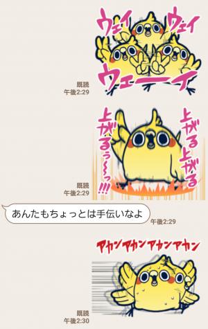 【人気スタンプ特集】めんトリ☆ヒデヨシのトリま返信 スタンプ (6)