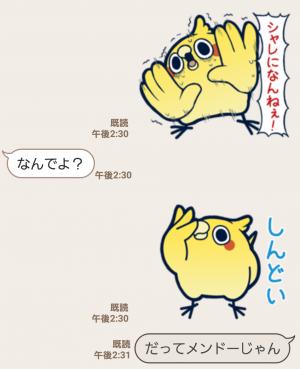 【人気スタンプ特集】めんトリ☆ヒデヨシのトリま返信 スタンプ (7)
