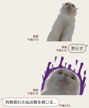 【人気スタンプ特集】自由すぎる!無重力猫ミルコ スタンプ (8)