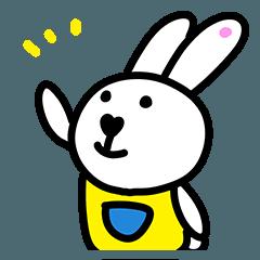 【人気スタンプ特集】うさぎのメルシー スタンプ