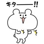 【無料スタンプ速報】ゆるくま x 便利アカウント スタンプ(2016年10月04日まで)
