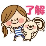 【無料スタンプ速報】スマイリス×かわいい主婦★コラボスタンプ(2016年10月17日まで)