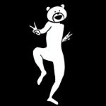【人気スタンプ特集】けたたましく動くクマ スタンプ