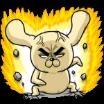 【人気スタンプ特集】怒りのロシヒキャラクターズ スタンプ