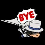 【限定無料スタンプ】名探偵コナン×レンジャーコラボレーション スタンプ(2016年10月31日まで)