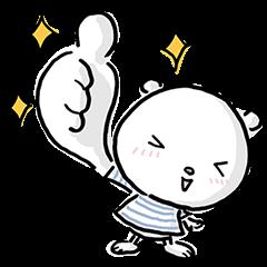 【限定無料スタンプ】ニトリのシロクマ スタンプ(2016年11月14日まで)