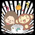 【隠し無料スタンプ】タッチモンチーxモンチッチ 限定スタンプ(2016年11月19日まで)