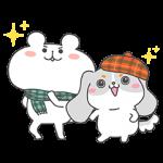 【限定無料スタンプ】ファッピー×ゆるくま★コラボスタンプ(2016年11月21日まで)