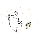 【無料スタンプ速報】飛び出せ!うさぎたん スタンプ第10弾 スタンプ(2016年12月26日まで)