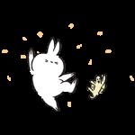 【限定無料スタンプ】飛び出せ!うさぎたん スタンプ第10弾 スタンプ(2016年12月26日まで)
