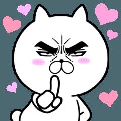 【人気スタンプ特集】目ヂカラ☆にゃんこ9 スタンプ