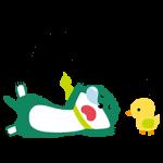 【隠し無料スタンプ】三井住友銀行 ミドすけとお友だち スタンプ(2017年04月06日まで)