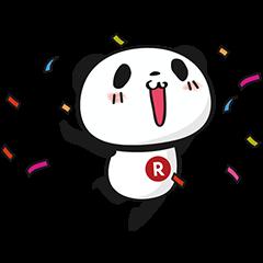 【限定無料スタンプ】お買いものパンダ スタンプ(2017年02月27日まで)
