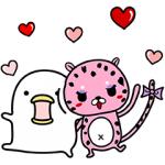 【無料スタンプ速報:隠し無料スタンプ】ランジー×うるせぇトリコラボスタンプ(2017年04月17日まで)