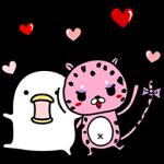 【隠し無料スタンプ】ランジー×うるせぇトリコラボスタンプ(2017年04月17日まで)