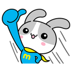 【限定無料スタンプ】ウサマッチョ スタンプ(2017年04月24日まで)