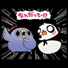 【隠し無料スタンプ】LINEパズル タンタン スタンプ(2017年04月30日まで)