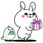 【無料スタンプ速報】うさぎ100%×LINE STORE スタンプ(2017年05月10日まで)