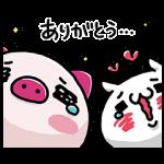 【限定無料スタンプ】JTB じぇいとん × 嬉しすぎにゃんこ スタンプ(2017年05月08日まで)