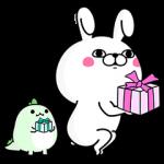 【限定無料スタンプ】うさぎ100%×LINE STORE スタンプ(2017年05月10日まで)