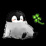 【人気スタンプ特集】肯定ペンギンのあかちゃん スタンプ