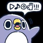 【人気スタンプ特集】なにか伝えたいペンギン スタンプ