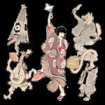 【人気スタンプ特集】椎名林檎 『百鬼夜行2015』記念スタンプ