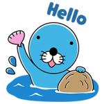 【無料スタンプ速報:隠し無料スタンプ】ブラウンファーム : ぼのぼのコラボ スタンプ(2017年07月12日まで)