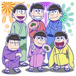 【半額セール】おそ松さん 第三松 スタンプ(2017年06月06日AM10:59まで)