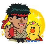 【無料スタンプ速報】レンジャー×ストリートファイタースタンプ(2017年06月21日まで)