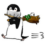 【人気スタンプ特集】肯定ペンギンのあかちゃん2 スタンプ