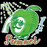 【隠し無料スタンプ】ハードシードル 夏のオリジナルスタンプ(2017年09月11日まで)