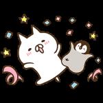 【隠し無料スタンプ】ねこぺん日和~住まい篇~第3弾 スタンプ(2017年12月04日まで)
