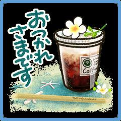 【キャンペーン】夏休みスタンプ販売開始!対象スタンプを購入してLINEクレジットを当てよう!(713~820) (2)