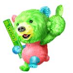 【無料スタンプ速報】サランラップ®の、たぶん、クマ。第二弾! スタンプ(2017年07月31日まで)