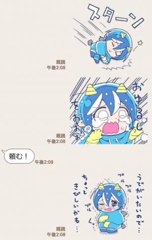 【人気スタンプ特集】泣き虫!悪魔のメムメムちゃん(四谷啓太郎) スタンプ (5)