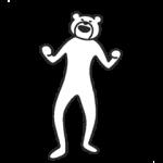 【限定無料スタンプ】けたたましく動くクマ スタンプ(2017年09月14日まで)