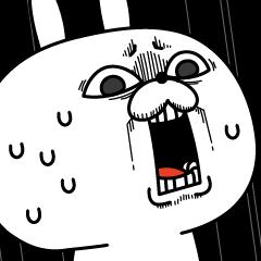 【人気スタンプ特集】激しく動く!顔芸うさぎ5 スタンプを実際にゲットして、トークで遊んでみた。