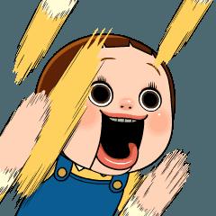 【人気スタンプ特集】うごくんダヨ! しょーちゃんは反抗期 3 スタンプを実際にゲットして、トークで遊んでみた。