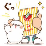 【無料スタンプ速報】ファミチキ先輩×毒舌あざらし スタンプ(2017年11月13日まで)