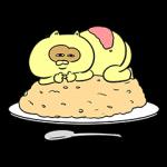 【人気スタンプ特集】食べてるとき以外眠いたぬきスタンプを実際にゲットして、トークで遊んでみた。
