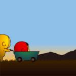 【人気スタンプ特集】黄色いヤツ、夕焼け色。 スタンプを実際にゲットして、トークで遊んでみた。