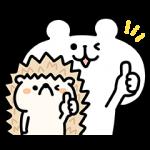 【限定無料スタンプ】ゆるくま 三菱地所レジデンス限定スタンプを実際にゲットして、トークで遊んでみた。