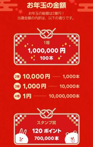 【イベント】LINEのお年玉キャンペーン2018開催! (2)