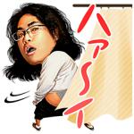 【日替半額セール】しゃべるロッチ!ハァ~イ スタンプ(2017年12月07日分)