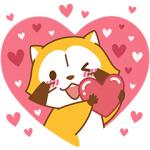【半額セール】LOVE☆ラスカルと世界名作劇場 スタンプ(2017年12月5日AM10:59まで)