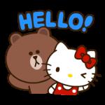 【人気スタンプ特集】LINE FRIENDS & HELLO KITTY vol.2 スタンプを実際にゲットして、トークで遊んでみた。