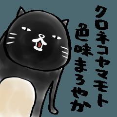 【人気スタンプ特集】クロネコヤマモト 色味まろやか スタンプを実際にゲットして、トークで遊んでみた。