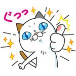 【無料スタンプ速報】タマ川 ヨシ子(猫)あけまして第13弾! スタンプ(2018年01月29日まで)