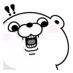 【無料スタンプ速報】ライスフォース×くま&ぬこ100% スタンプ(2018年02月26日まで)